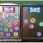 classroom numbers {free printables}