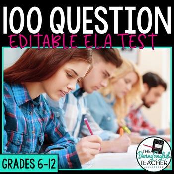 100 Question Editable Test