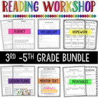 3rd-5th Grade Guided Reading BUNDLE {Aligned to Common Core}