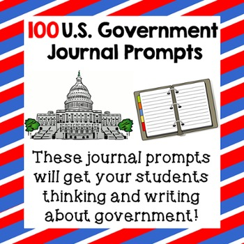 100 U.S. Government Journal Prompts