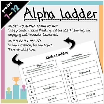 Alpha Ladder Critical Thinking
