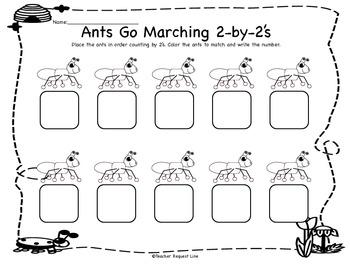 Similiar Ants Go Marching Worksheets Keywords