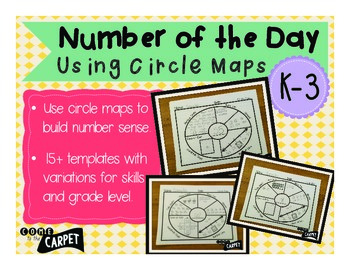 Circle Maps for Number of the Day K-3