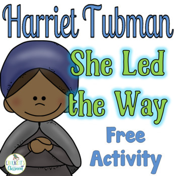 https://www.teacherspayteachers.com/Product/Civil-Rights-Leaders-Free-Sample-Harriet-Tubman-1628415