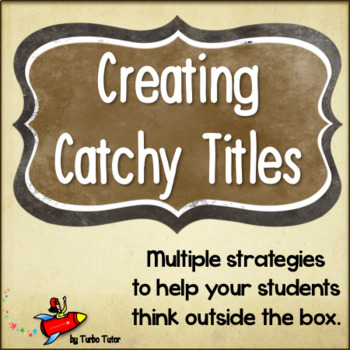How to Create a Catchy Essay Title