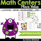 Differentiated 4th Grade Common Core Aligned Place Value Centers!