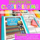 Digging Deep into the Text with Close Reading: A Must-Have
