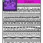 Doodle Page Dividers MEGA Pack {Creative Clips Digital Clipart}
