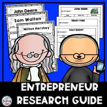 Economics: Entrepreneur Research Guide