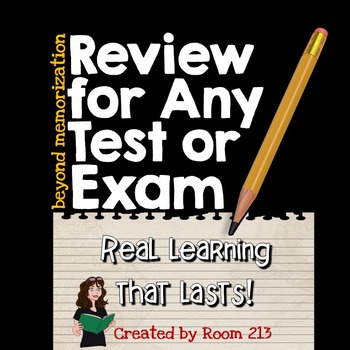 Review for Any Test or Exam