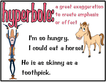 20 examples of hyperbole
