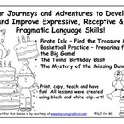 Four Adventures to Improve Expressive, Receptive and Pragm