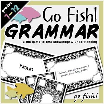 Grammar Go Fish