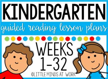 Guided Reading Kindergarten Curriculum MEGA BUNDLE by Tara ...