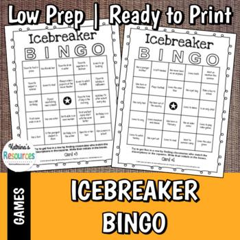 icebreaker bingo for classrooms. Black Bedroom Furniture Sets. Home Design Ideas