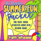 L.Arts & Math - Summer Fun Packet (1st Grade)