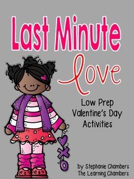 Last Minute Love: Low Prep Valentine's Day Activities {LA