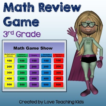 Math Review Game 3rd Grade