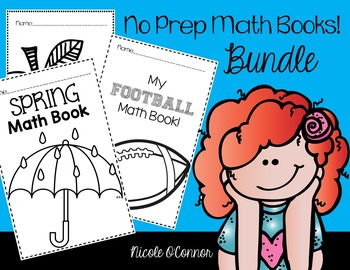 No Prep Math Book Bundle!!