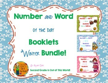 Number and Word of the Day Winter Bundle!