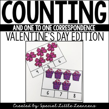 One-to-One Correspondence Activities {Valentine's Day Themed}