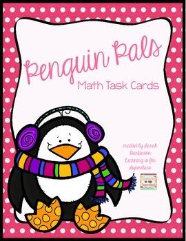Penguin Pals: 1st Grade Math Centers