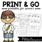Print and Go! Printables for Summer