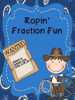 Ropin' Fraction Fun Freebie