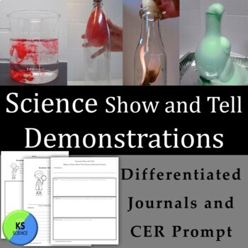 Science Show and Tell: 18 Demonstrations with Simple Suppl