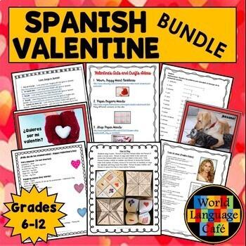 Spanish Valentine's Day Lesson: El dia de los enamorados, San Valentin