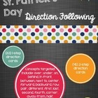St. Patrick's Day Direction Following