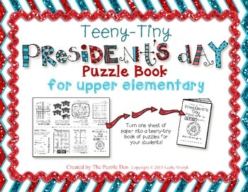 President's Day Puzzles
