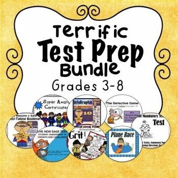 Test Prep Bundle *Newly Updated* Now with 10 Terrific Resources!