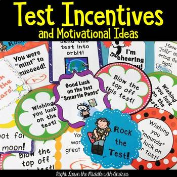 Motivational Ideas for Tests and Assessments