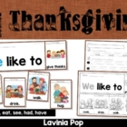 Thanksgiving Flip Book & Writing Prompt {FREE}