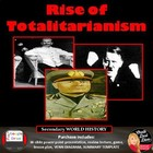 The Rise of Totalitarianism Lecture & Review Game (World History)