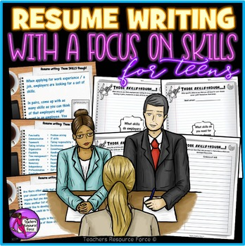 Those Skills Though: students reflect on skills needed for their resume/cv