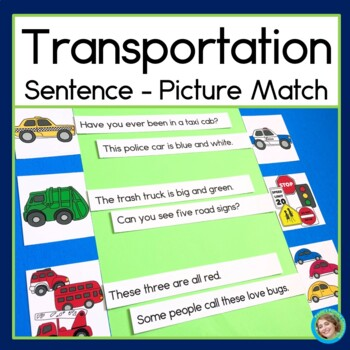 Transportation Sentence Picture Match
