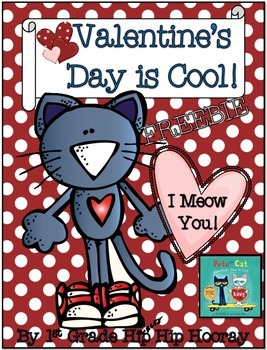Valentine's Day is Cool with Pete the Cat...Math Games Freebie