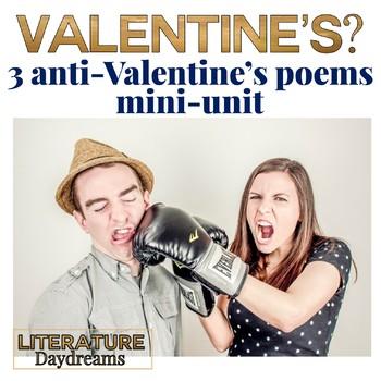 Valentine's poetry 3 lesson bundle CCSS Aligned