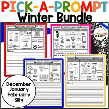 Writing: Winter Pick a Prompt Bundle
